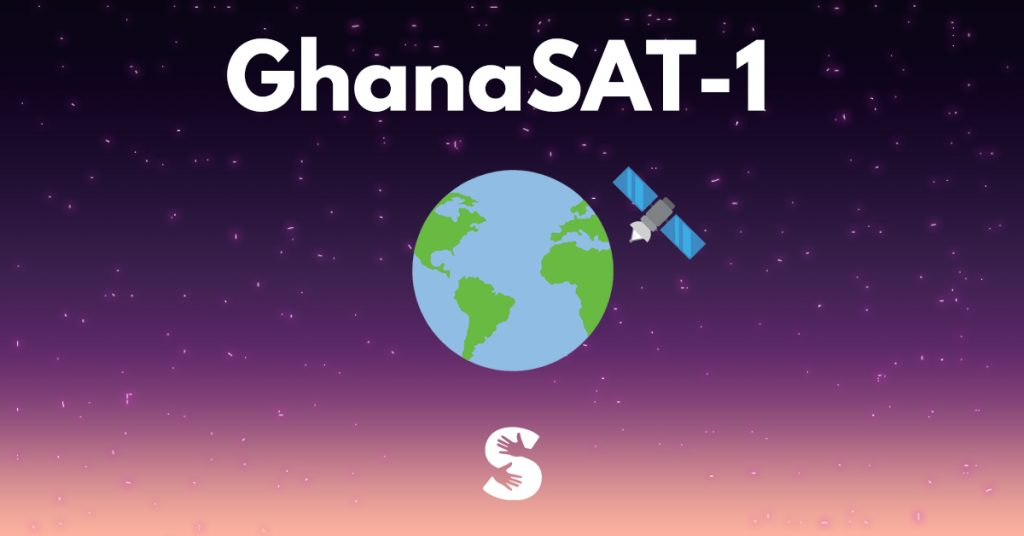GHANA'S VOYAGE TO SPACE
