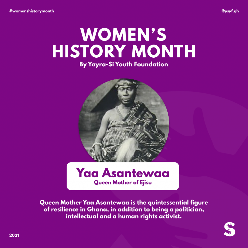 YSYF Women's History Month Campaign